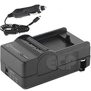 Canon VIXIA HF20 Camcorder Battery Charger (110/220v with Car adapter) - Replacement Charger for Canon BP-808, BP-809, BP-818 BP-819, BP-827 Battery