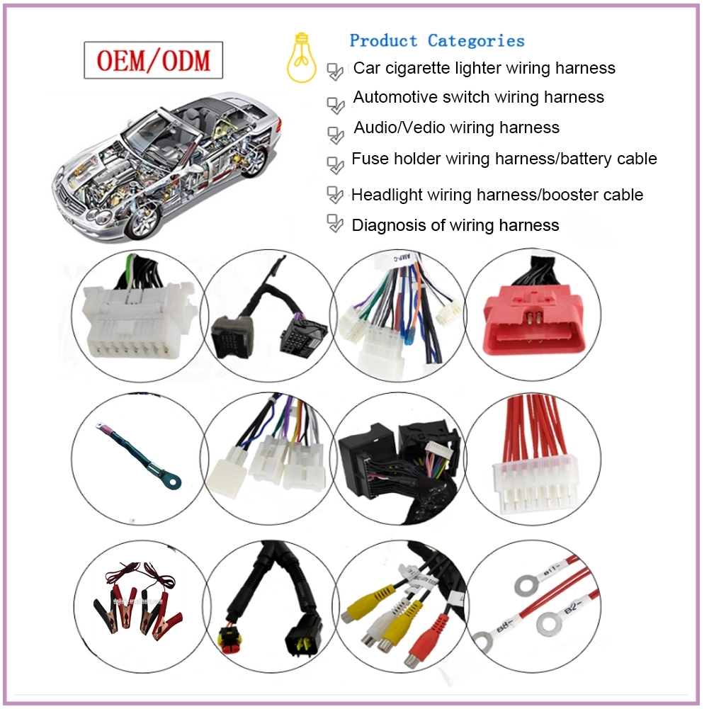 Car engine circuit customized connector electronic relay fuse automotive ls1 ls3 wiring harness
