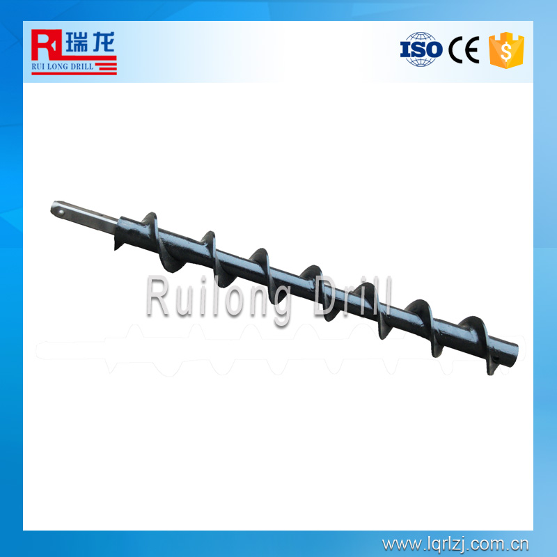 Bulldozer,excavator spiral drill steel rods