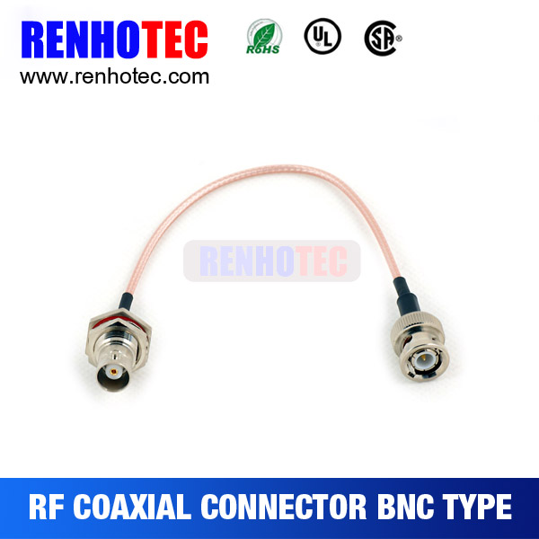 antenna Cable straight to BNC female straight with RG174 cable