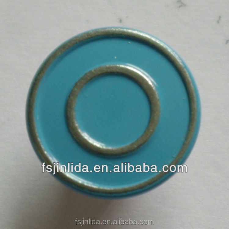 15mm painting gliter jeans button for garment accessory