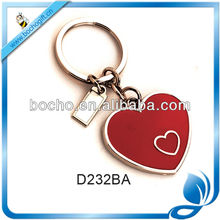 Valentine's gift metal key chain