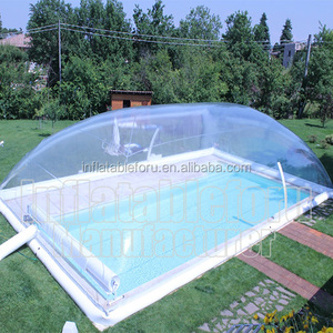 PVC air dome swimming pool cover for sale