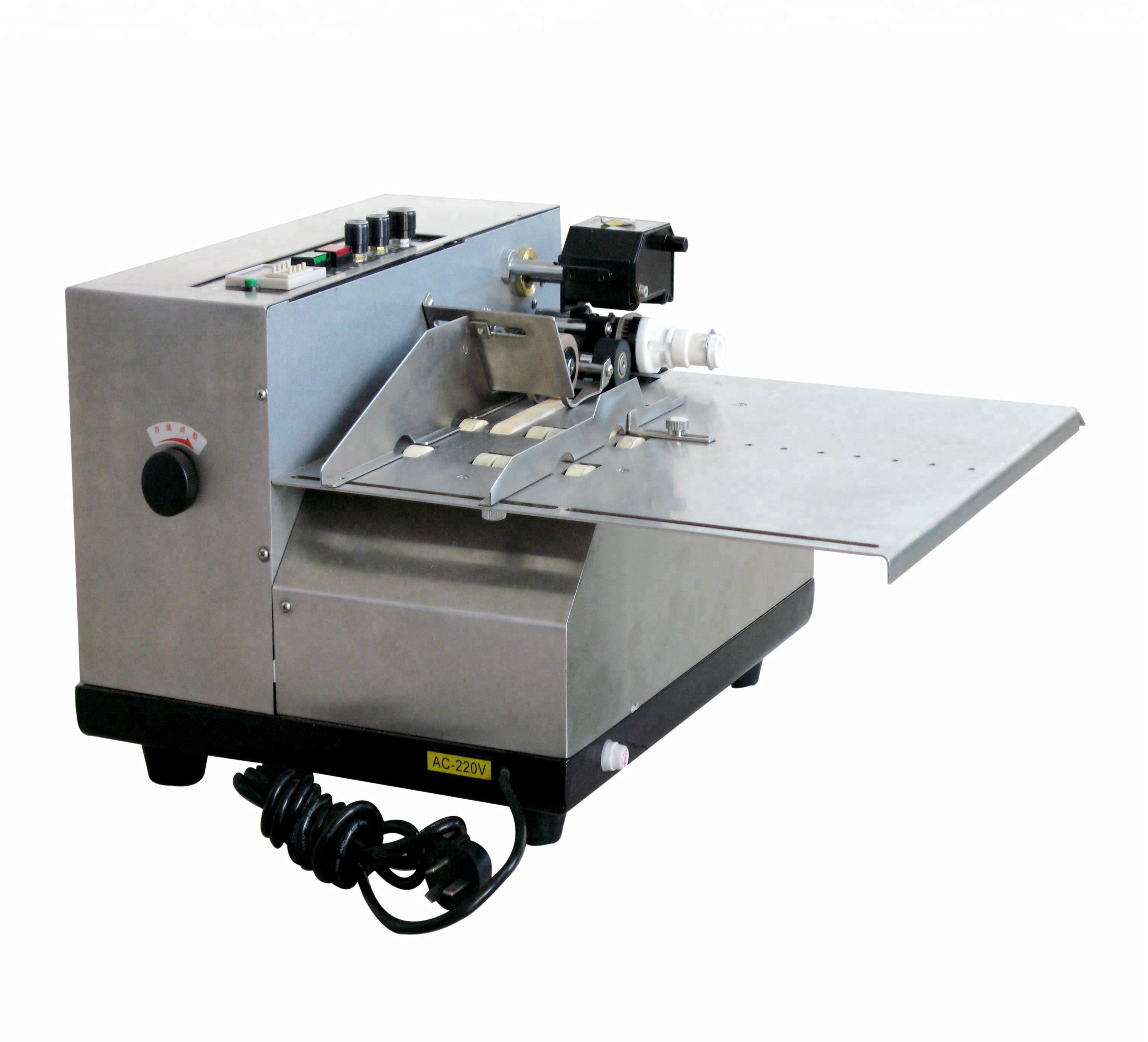 MY-380F Embossing en effen inkt batch Lint Codering Print Machine