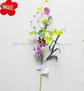 Spring Artficial Fabric flowers for indoor decoration