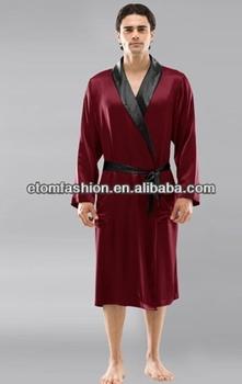 Hot Sale Mens Pure Luxury Nighties Robe 2550530098ac