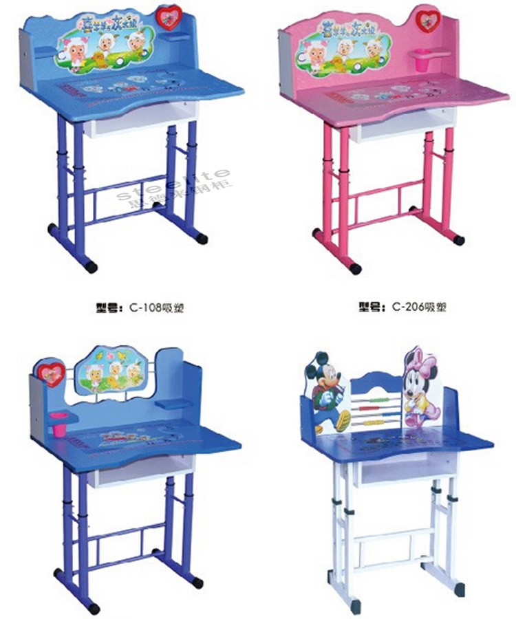 Superbe Used School Furniture Daycare Cartoon Picture Kids Study Table And Chair  For Sale   Buy Kids Study Table And Chair,Study Table And Chair,Tables And  ...