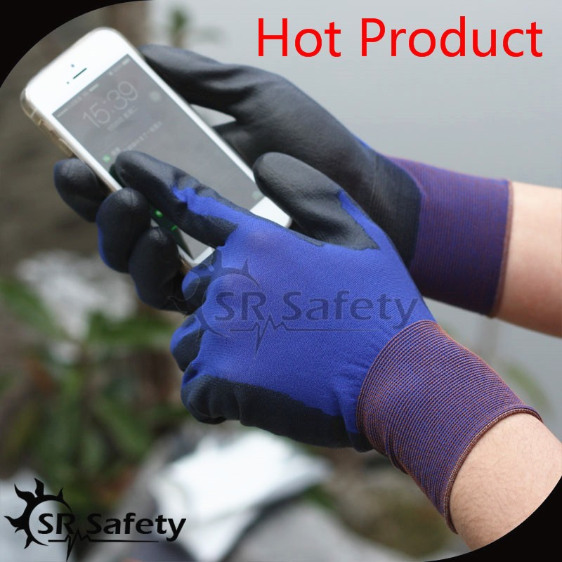 SRSAFETY touch screen gloves for 18 gauge gloves in china
