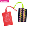 Welcome small order corporate giveaways smart silicone funny luggage tag