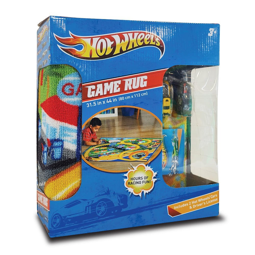 Buy Hot Wheels Game Play Mat Rug By Mattel New In Box Cars Racing