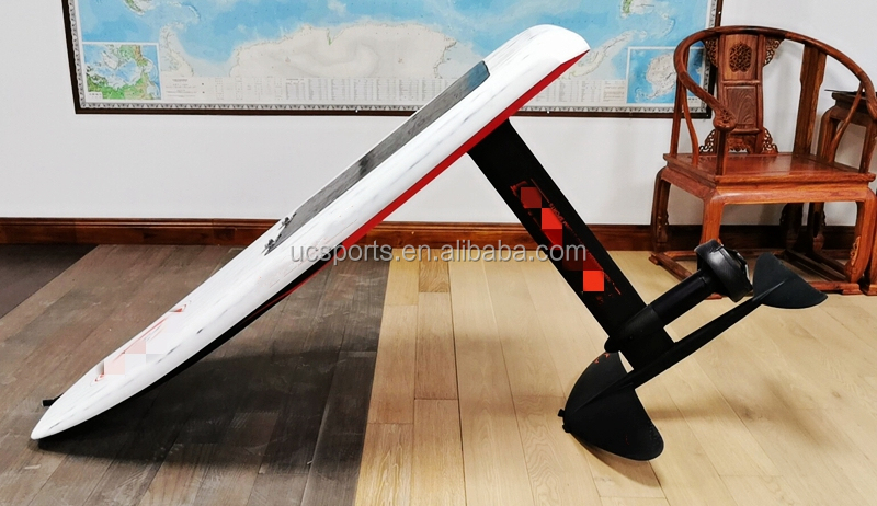 Full Carbon Elektrische Folie Efoil Boards Surf Draagvleugelboot Met Batterij En Motor E-Folie