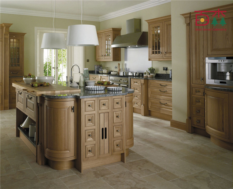 american cherry solid wood kitchen cabinet imported Black Distressed China Cabinet Chinese Kitchen Cabinets