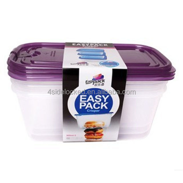 Plastic Food Containers With Attached Lids, Plastic Food Containers With Attached  Lids Suppliers And Manufacturers At Alibaba.com
