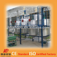 oil refinery contract design compact design stainless steel structure grade 1 oil quality