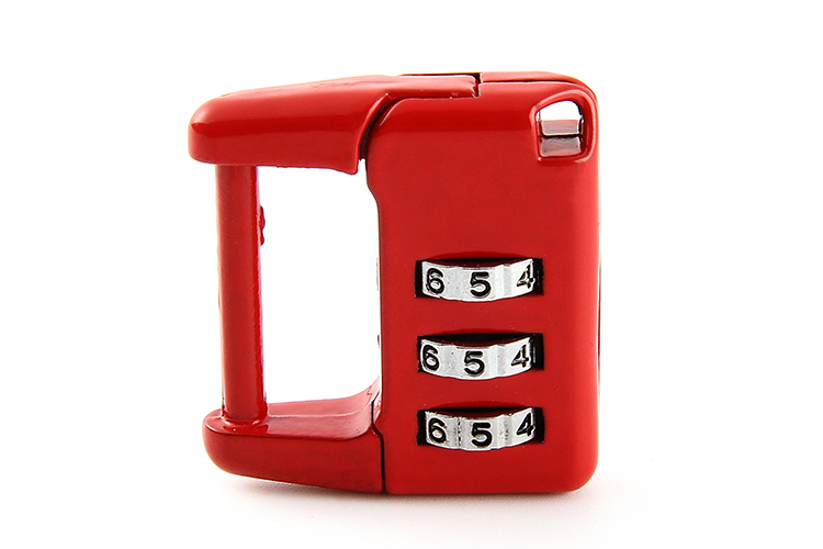 Travel luggage suitcase code lock zinc alloy safety 3 digit combination password lock