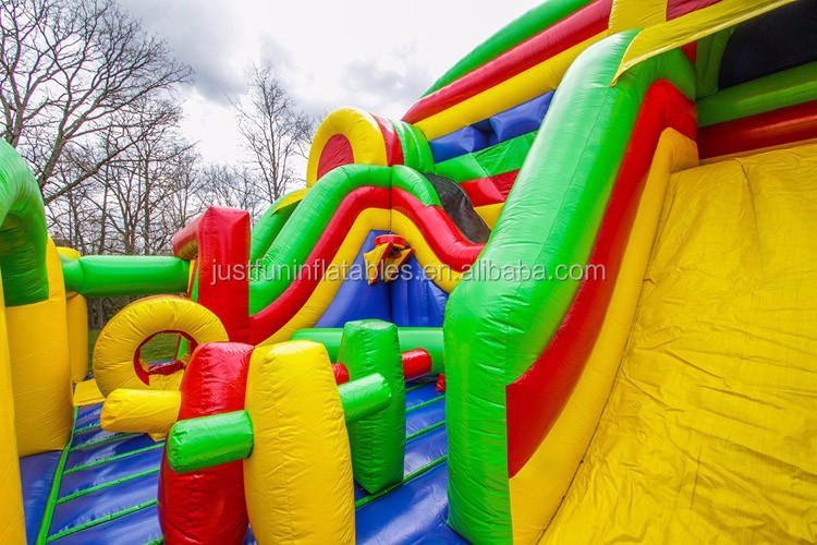 fun in one kids combo playground china bounce house prices