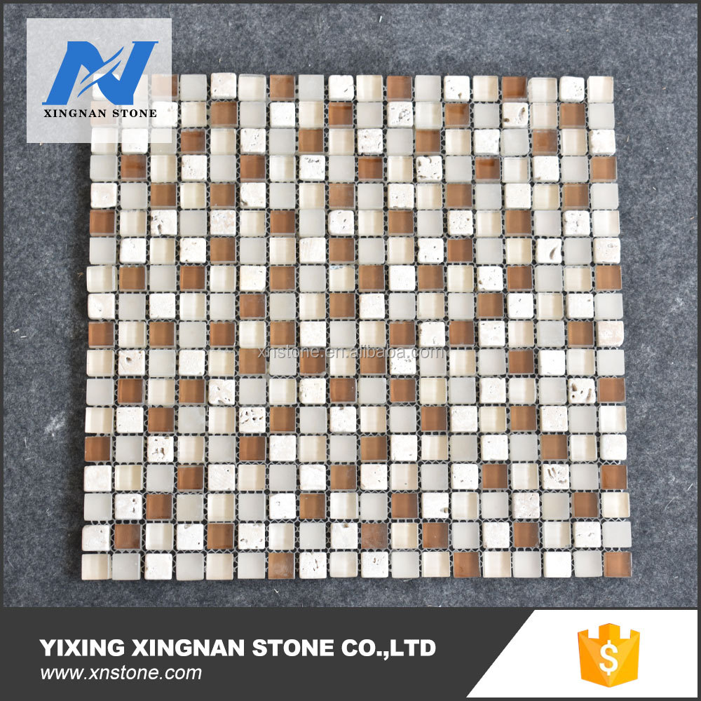 Block Glass Mosaic,Colour Glass Mosaic,Hot sale marble mosaic