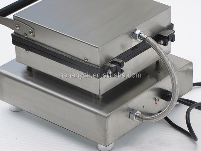 Commercial Waffle Iron Machine Waffle Baker Commercial Toaster Belgian Waffle Cone Machine