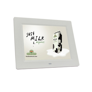 Square 4:3 Digital Photo Frame 8 inch with Built in Battery Auto Playback