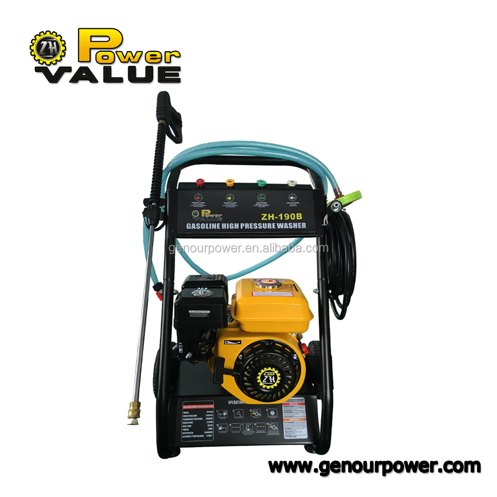 Portable High Pressure Car Washer Electric petrol power jet pressure washer