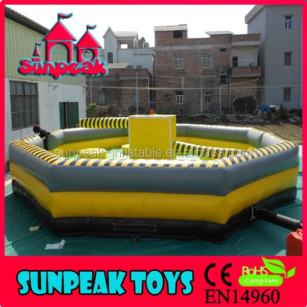 SP-1436 Inflatable Wipeout ,Eliminator Mechanical Rodeo Game Riding Machine/Mechanical Rodeo Bull/Inflatable Rode