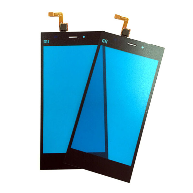 Original For XiaoMi 3 M3 Mi3 Touch Screen Panel Digitizer Replacement M3 Mi3 Mobile Phone touch Black Color