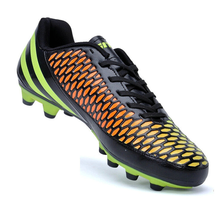b678bd123 Get Quotations · 2015 new top outdoor nice mens football boots cheap Kids  soccer cleats size 33 45 gold