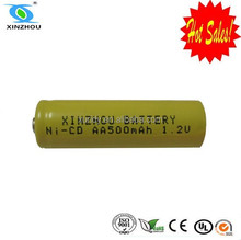 Most safe rechargeable nicd aa 500 battery pack