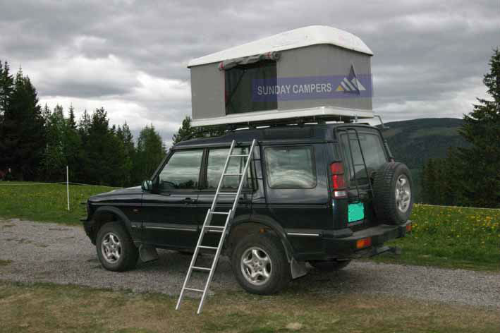 SUV Auto Hard Shell Roof Top Tent