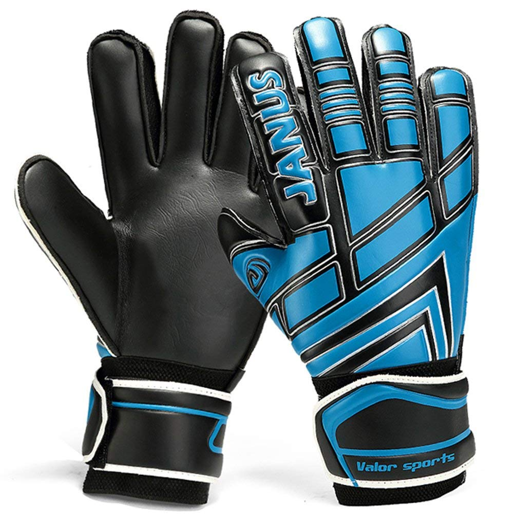 Get Quotations · JYH Professional Adult & Youth Latex Soccer Goalkeeper  Gloves,Strong Grip Finger Protection Football Goalie