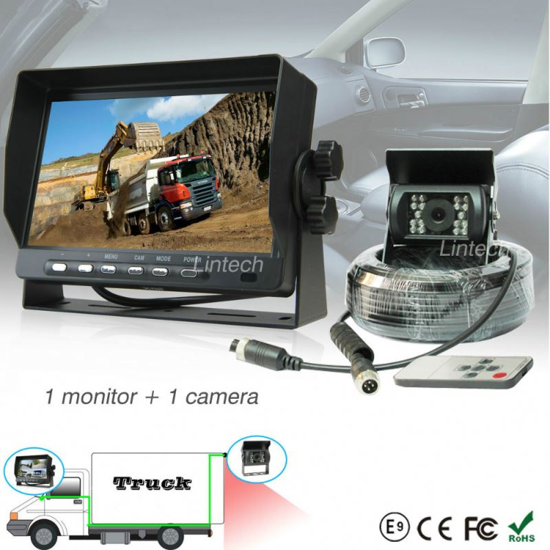 2016 New Impact resistant around view monitor system for school bus
