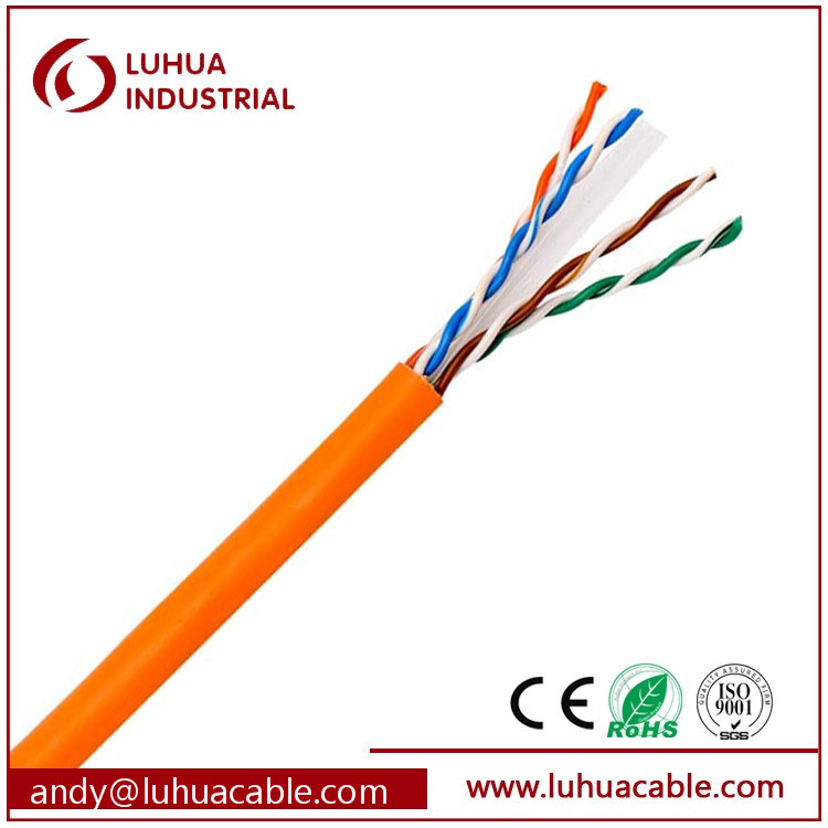 Cat6 Cable with Jelly 23AWG UTP Cat6 Network Cable