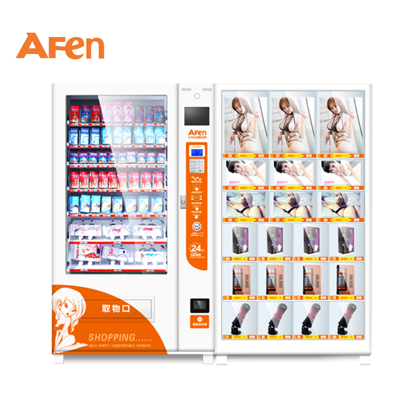 AFEN shoes ramen sexy toys package food vending machine for black tea
