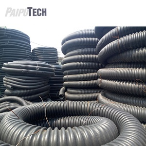 Flexible Corrugated Underground Electrical Conduit Cable Pipe