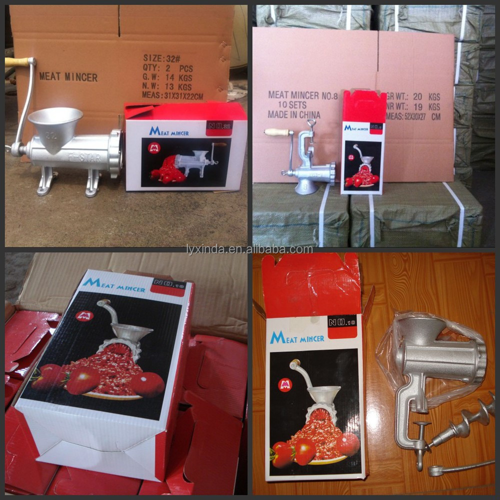 5# 8# 10# 12# 22# 32# hand operated meat mincer