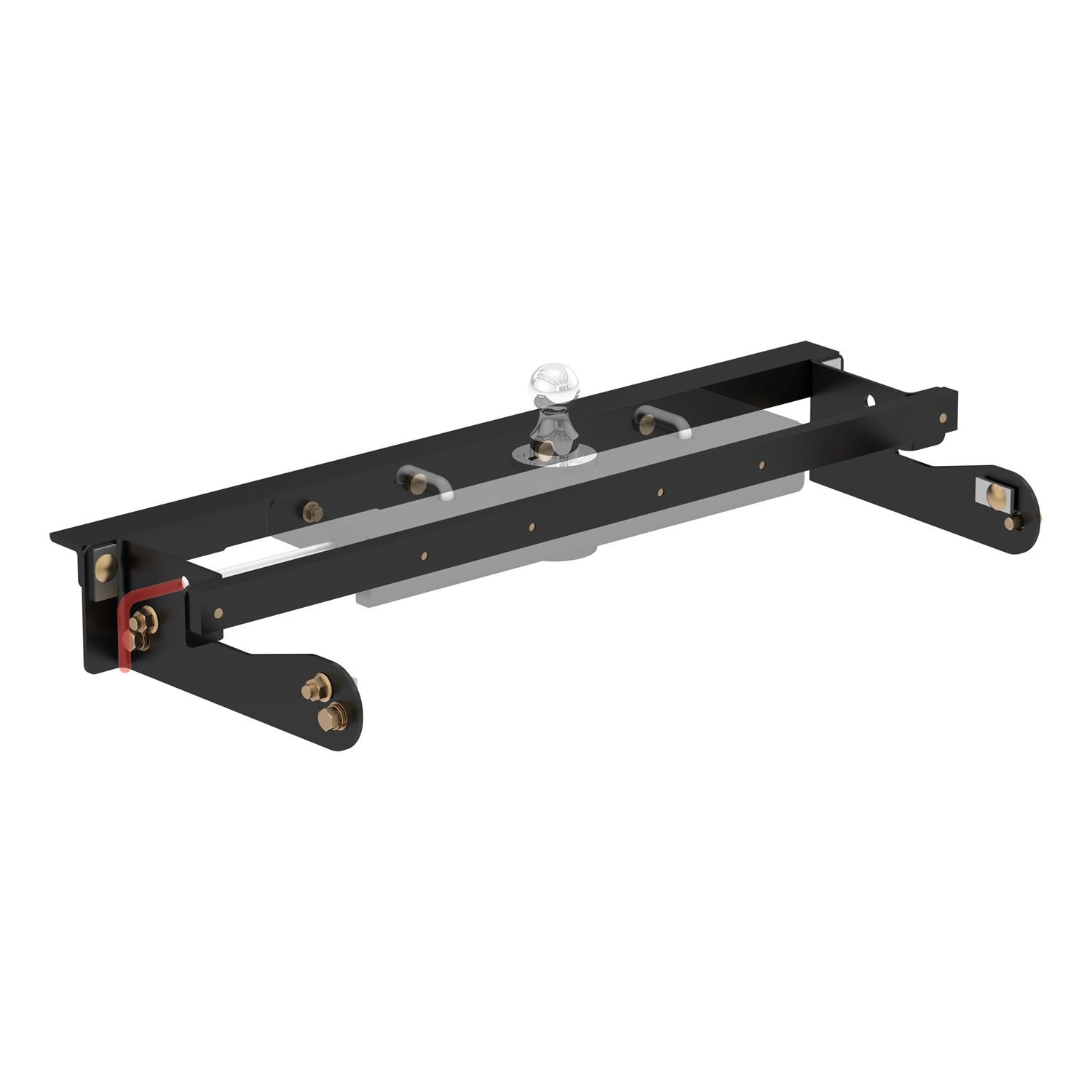 CURT Manufacturing 60624 Under-Bed Gooseneck Installation Kit (Fits specific GMC and Chevy pickup trucks Includes mounting hardware, Double Lock Ezr)