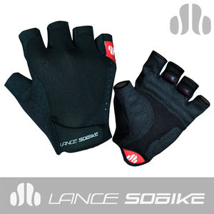 Sobike 2013 Sublimated Cycling Half Finger Gloves Thunder 2