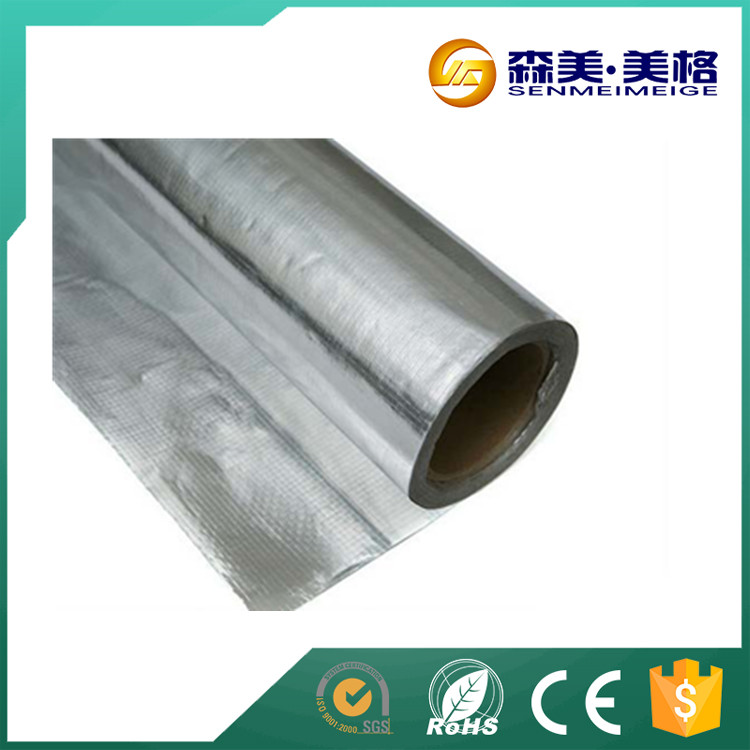 Self Adhesive Aluminum Foil Heat Resistant Building Materials ...