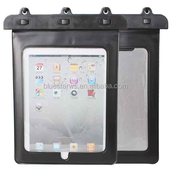 100% Waterproof Tablet Pouch Dry Bag Case For iPad 2 3 4G / The New iPad