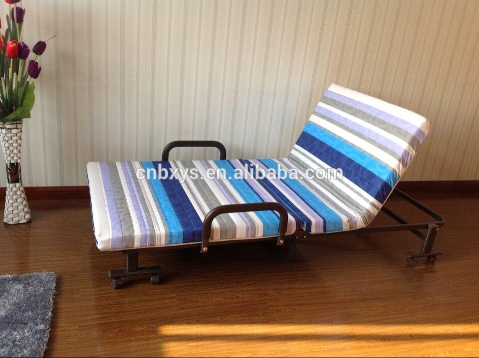 Barato moderno plegable cama individual diseños/marco de cama de ...