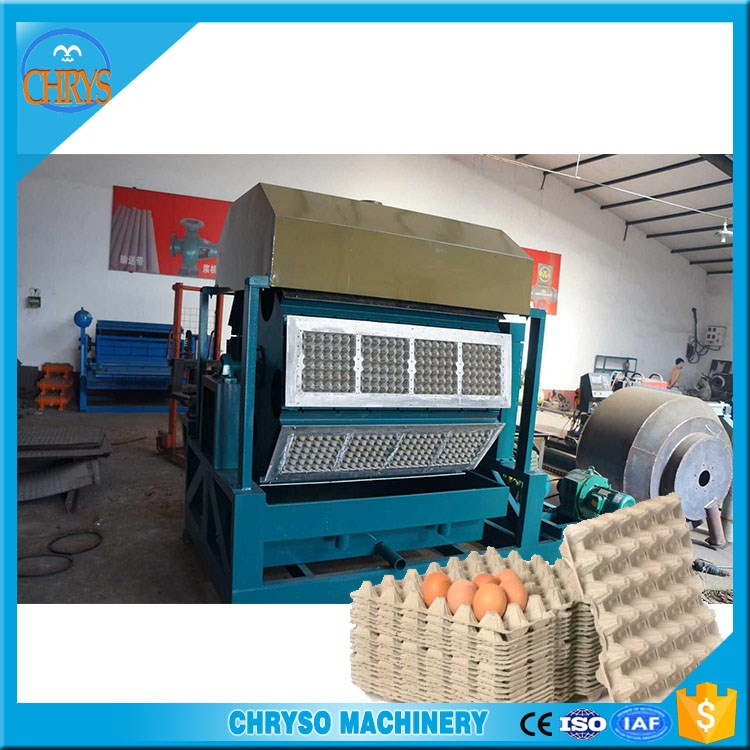 High profit low cost 3000~3500pcs/hr Used Paper Egg Tray Machine