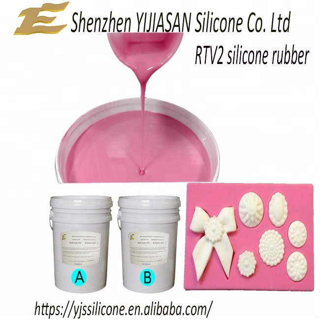 Platinum cure food grade rtv-2 silicone rubber for molds making