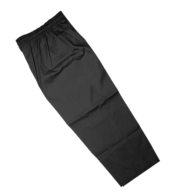 black karate uniform, karate pants