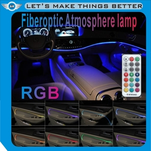 Mobile phone APP control 12V automotive interior atmosphere LED light vehicle foot light