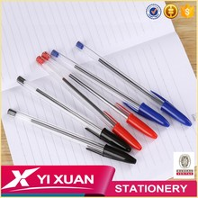 Cheap stationery products and recycle promotional plastic ball point pen