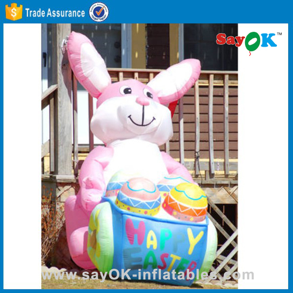 Easter bunnies for sale inflatable outdoor easter egg decorations