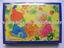 scenery series puzzles paper educative toys
