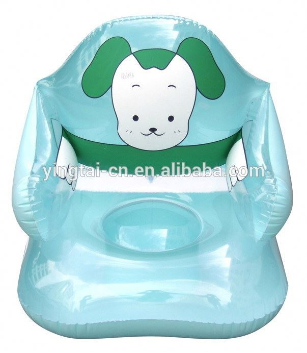 2017 hot sales lovely cartoon inflatable kids chairs and single sofa chair