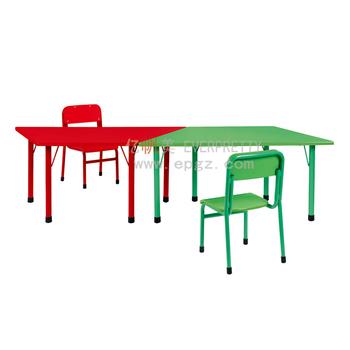 De Trapecio Mesa Y Silla,Muebles Para Niños,Guardería Adjunto ...
