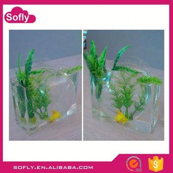 Wine Glass Fish Bowl Plastic Fish Bowls Wholesale Buy 4